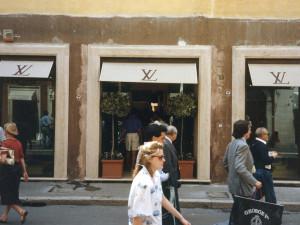 Negozio Luis Vuitton