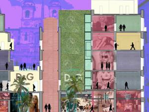 Piazza di Spagna 93, negozio D&G