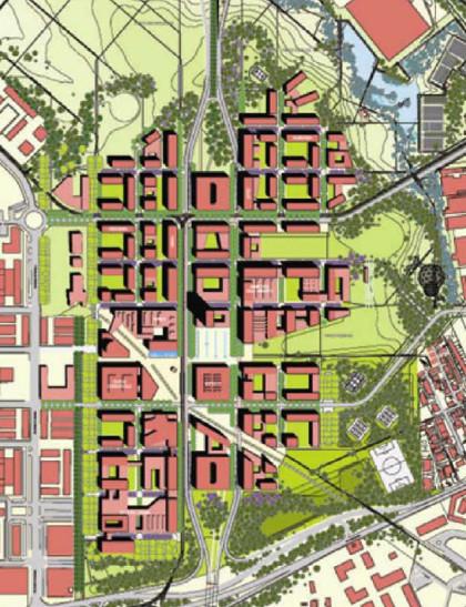 New urban centrality Romanina